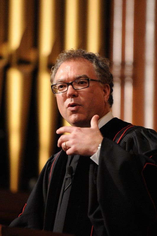 Mark Giuliano preaching