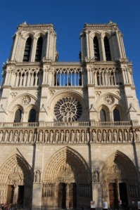 Notre Dame is the Grand Dame of Paris Churches.