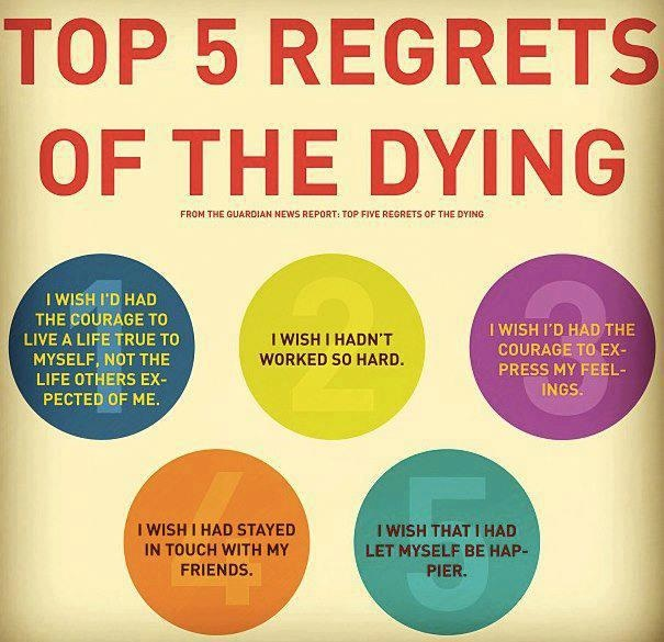 No Regrets Sayings and Quotes