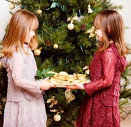 Children reveal values at Christmas